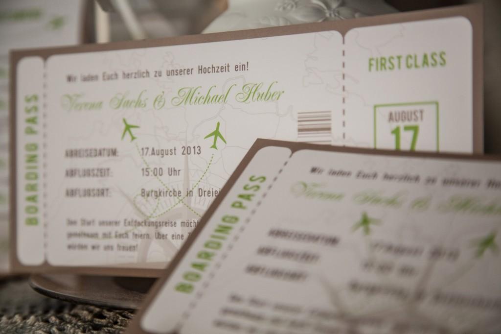 Flugtickets Einladungen Archives - Green Olive Design Blog
