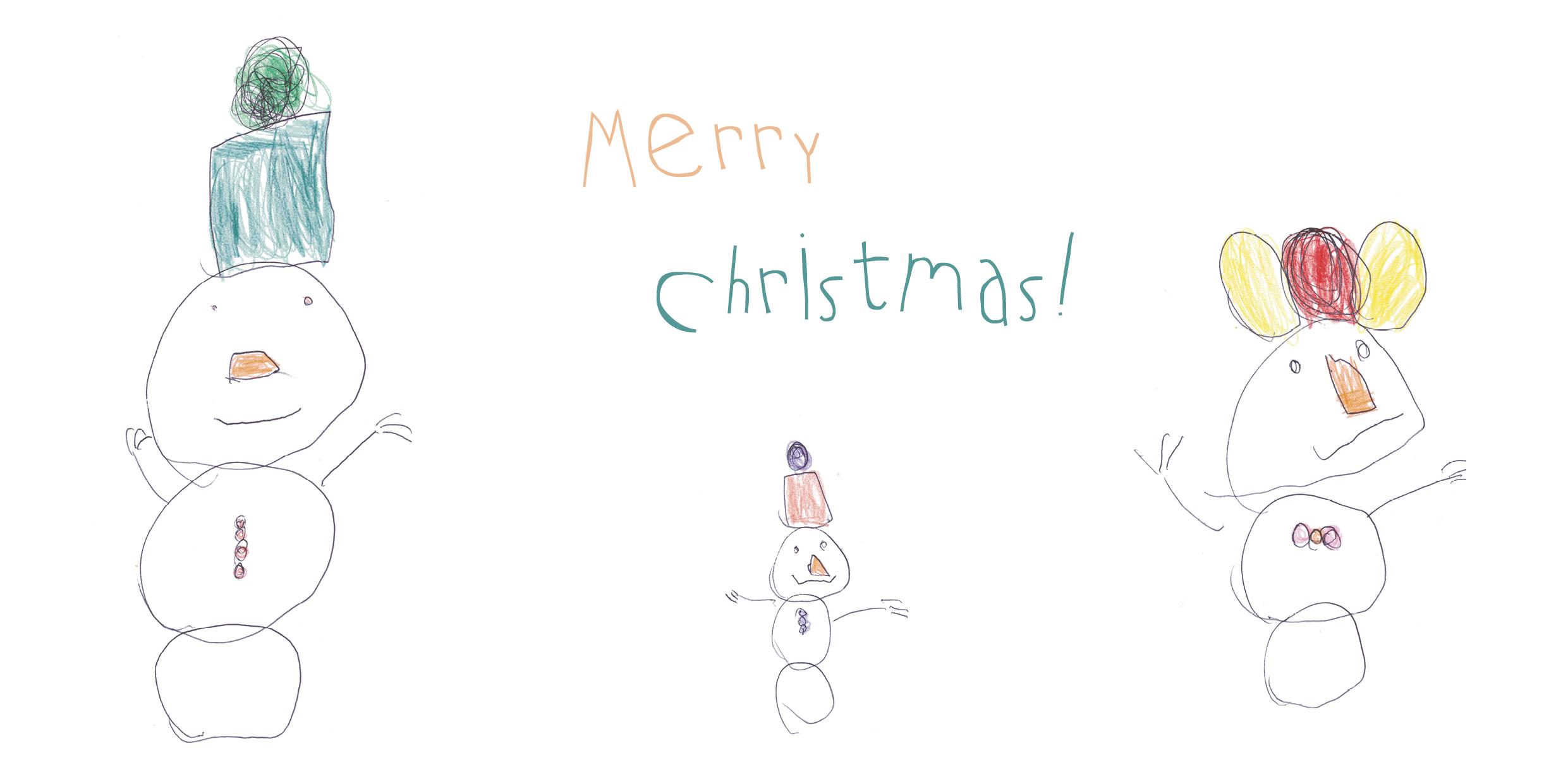 Weihnachtskarten Design - green olive design Blog