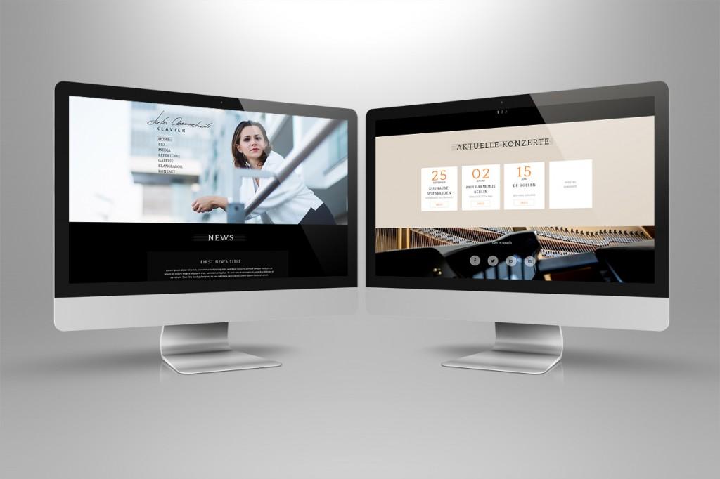 Webdesign + Musiker
