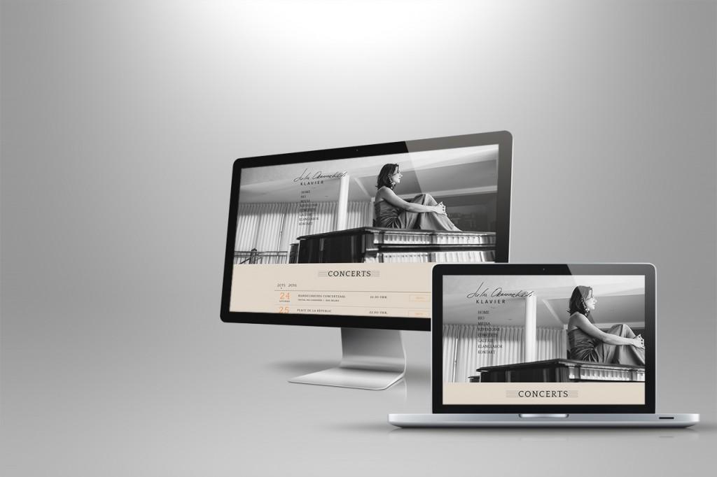 Webseite Konzerte